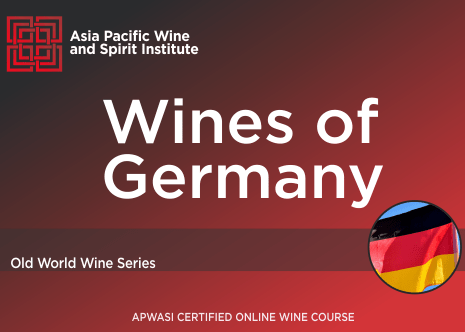 APWASI Certified Wines of Germany Online Course