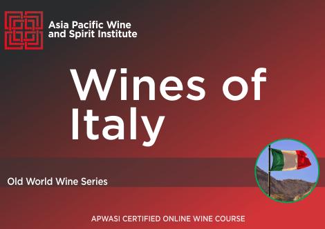APWASI Certified Wines of Italy Online Course