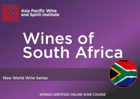 APWASI Certified Wines of South Africa Online Course