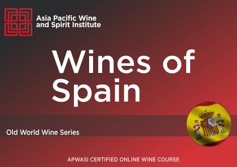 APWASI Certified Wines of Spain Online Course