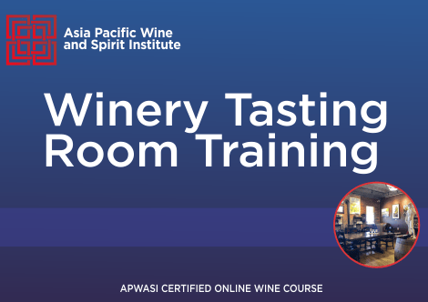 APWASI Certified Winery Tasting Room Training Online Course
