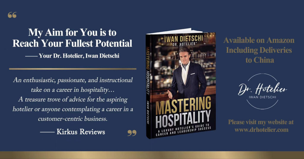Dr. Iwan Dietschi - Mastering Hospitality